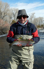 Winter Fly Fishing Conejos