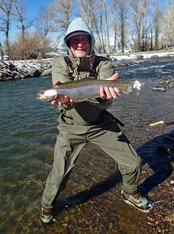 Winter Fly Fishing NM