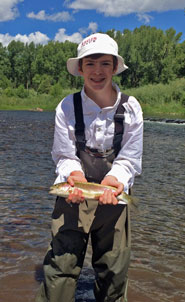 New Mexico Fly Fishing Kids