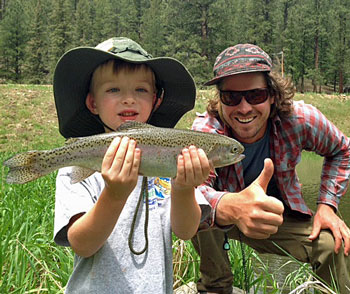 Fly Fishing For Children