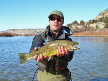 Winter Fly Fishing NM   CO