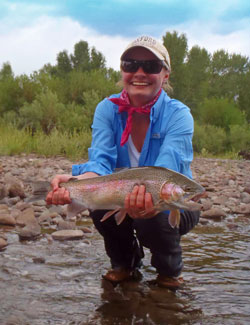 Big New Mexico Rainbow Trout