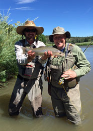 Chama River NM Fishing