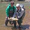 Pecos River Fly Fishing near Santa Fe, New Mexico