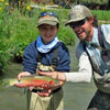 Trophy Sized Rio Grande Cutthroat for a Young Angler